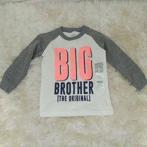 "Carter 2T long sleeve tee ""Big Brother"""